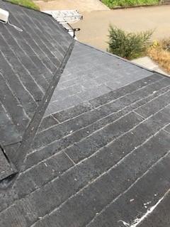 スレート屋根 修理
