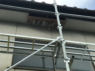 軒天井 損傷