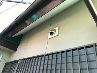 軒天井 補修後