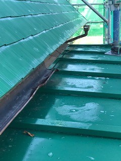 屋根 凍結