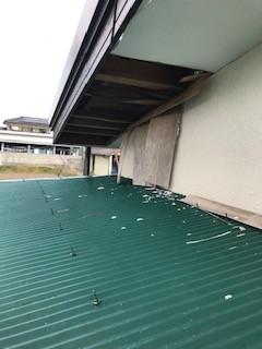軒天井 破損