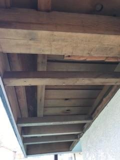 軒天井 改修工事