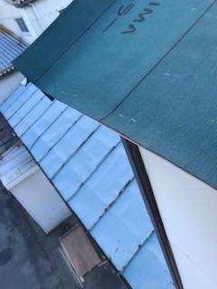 トタン屋根 下葺き材