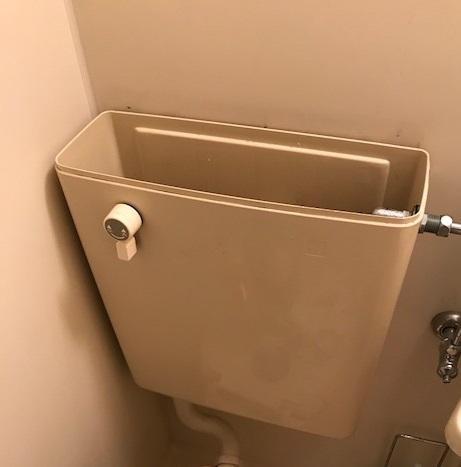 トイレ タンク直し