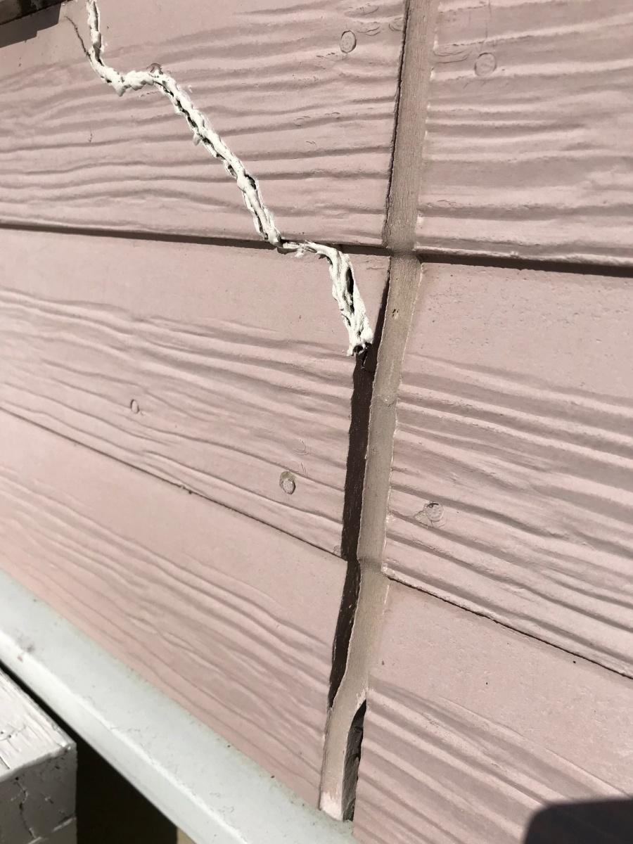外壁材 補修前