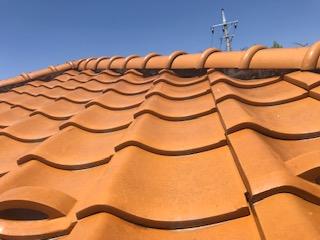 甲府市にて瓦屋根の無料点検をご依頼いただきました