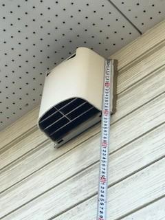 換気システム排気口