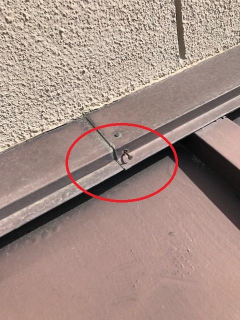 屋根リフォーム 釘の浮き