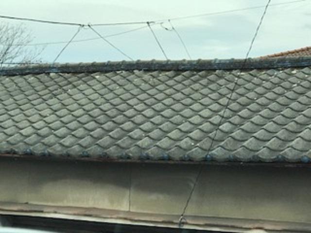 屋根 漆喰剥がれ