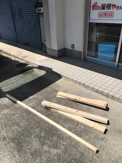 屋根補修 木材