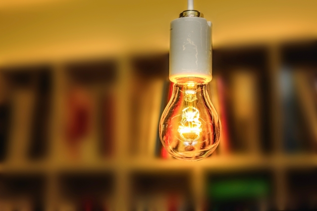 写真AC 裸電球 ペンダントライト