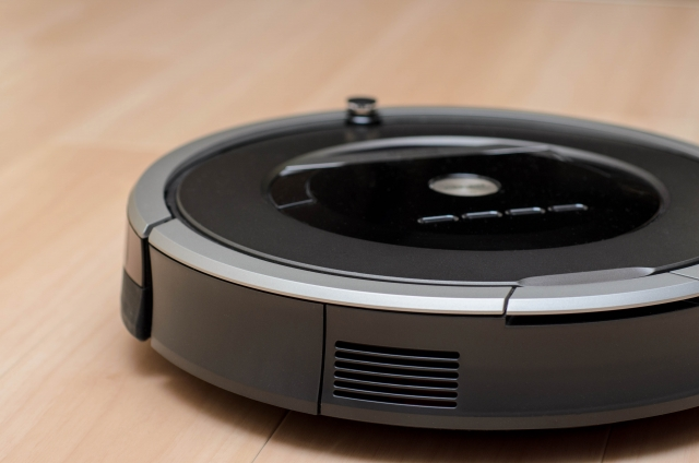 写真AC ロボット掃除機