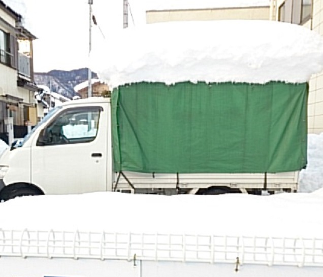 2014年 大雪 積雪
