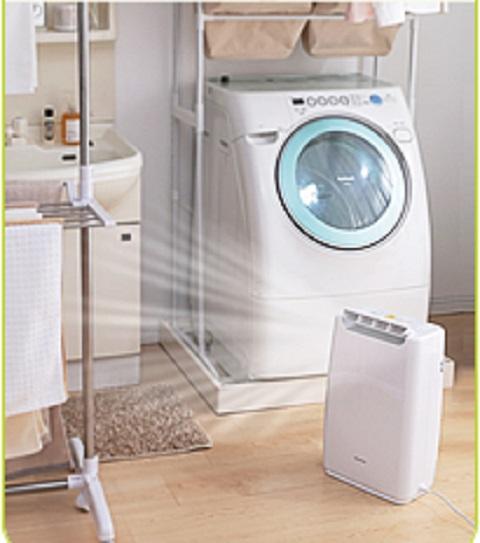 アイリスオーヤマ デシカント dda20 除湿器 洗面所