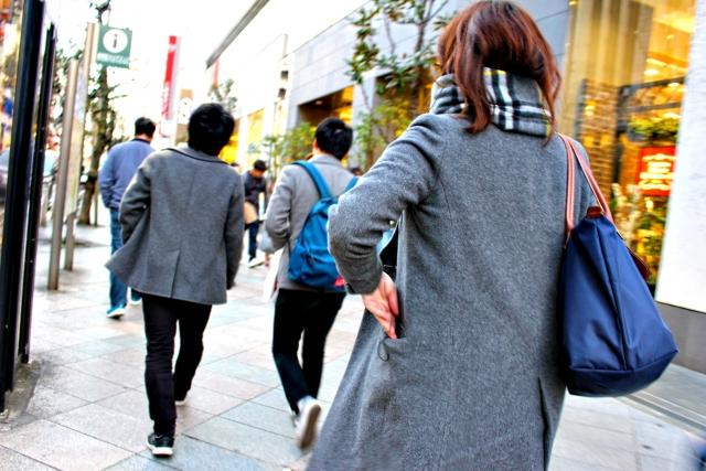 写真Ac 肌寒い季節街角1