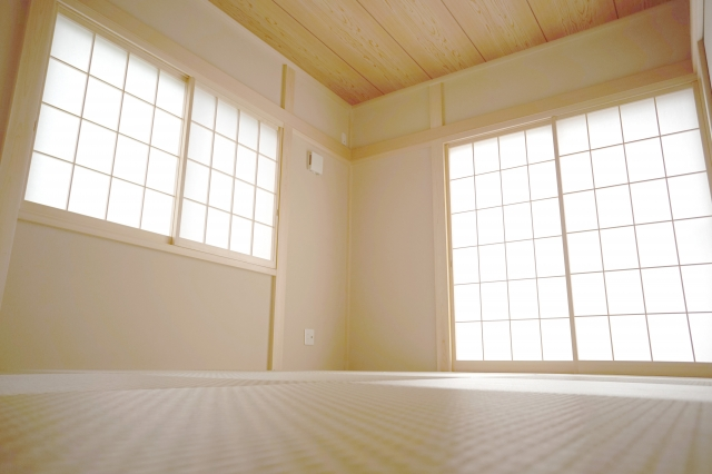 写真AC 和室 畳 リフォーム 障子 山梨