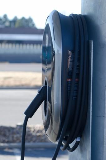 写真AC 給油機 電気自動車コンセント プラグ