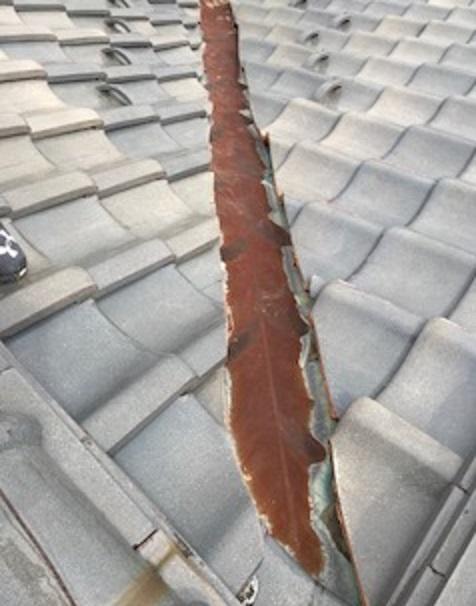 瓦屋根補修 終了