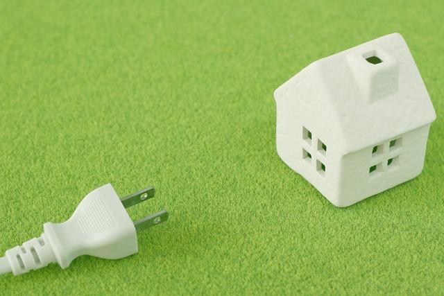 写真AC 家庭の電気イメージ コンセント リフォーム