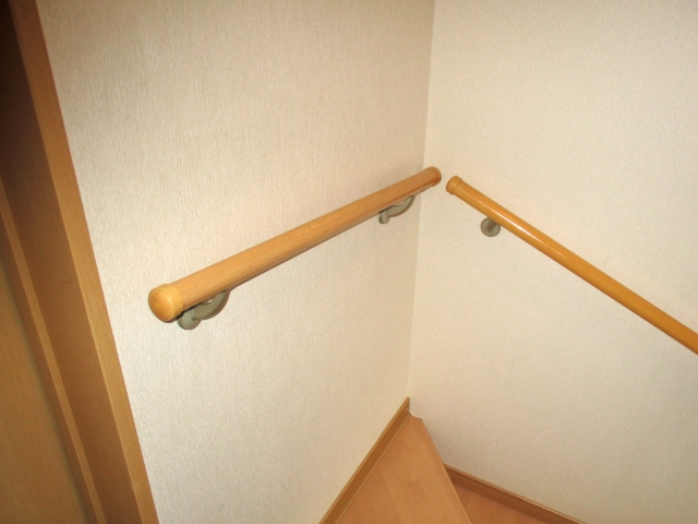 写真AC 手すり 階段手摺 室内リフォーム 山梨