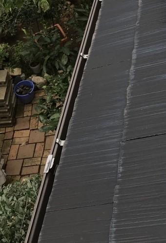 雨樋 清掃後