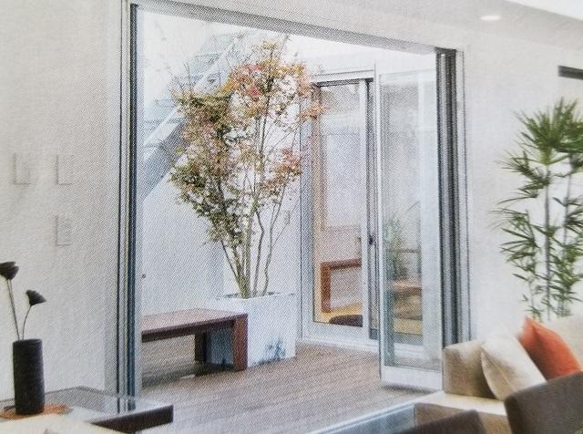三協アルミ セレクトブック2017p16 フルオープン折りたたみ窓