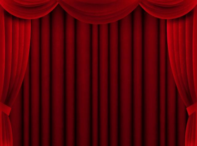 写真AC 赤カーテン