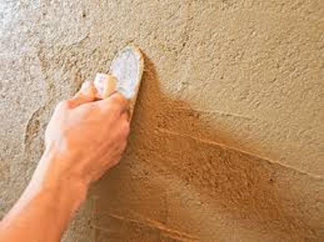左官工事 塗り壁 小手仕上げ