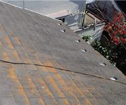 スレート屋根チェック4.屋根が色褪せている